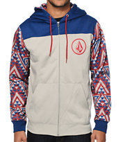 Volcom Azzy Tribal Tech Fleece Jacket