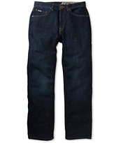 Volcom Black Bart Blue Relaxed Fit Jeans