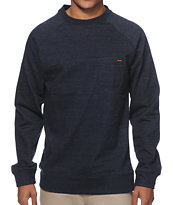 Volcom Blarney Navy Pocket Crew Neck Sweatshirt