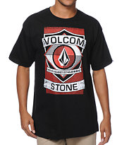 Volcom Blirp Black Tee Shirt