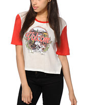 Volcom Block It Crop T-Shirt