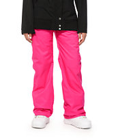 Volcom Boom Pink 8K Insulated Snowboard Pants