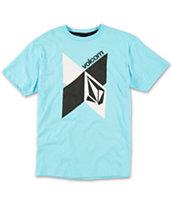 Volcom Boys Anatomize Blue T-Shirt