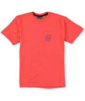 Volcom Boys Bad News Pocket Tee Shirt