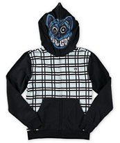 Volcom Boys Badda Full Zip Face Mask Hoodie