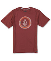 Volcom Boys Bleed Red Tee Shirt