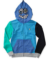Volcom Boys Chargernized Full Zip Face Mask Hoodie