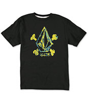 Volcom Boys Cross Scribbled T-Shirt