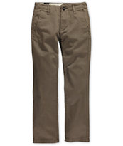 Volcom Boys Faceted Slim Fit Chino Pants