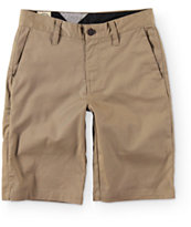 Volcom Boys Frickin Modern Khaki Chino Shorts