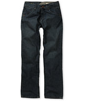 Volcom Boys Nova Blue Regular Fit Jeans