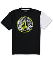 Volcom Boys Punk Circle Black T-Shirt
