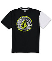 Volcom Boys Punk Circle Black Tee Shirt