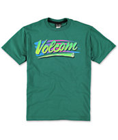 Volcom Boys Rad Green Tee Shirt