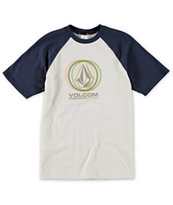 Volcom Boys Sedated Stones Baseball T-Shirt