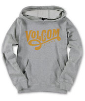Volcom Boys Standards Charcoal Pullover Hoodie