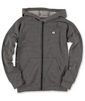 Volcom Boys Z Tone Black Zip Up Hoodie