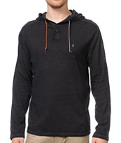 Volcom Burnt Long Sleeve Knit Burnout Thermal