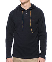 Volcom Burnt Long Sleeve Knit Charcoal Thermal
