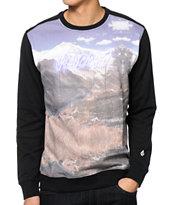 Volcom Chauncey Sublimated Crew Neck Sweatshirt