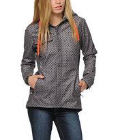 Volcom Circle Flannel Tech Fleece Jacket
