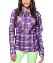 Volcom Circle Flannel Tech Fleece Jacket