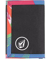 Volcom Circle Patch Multi Trifold Wallet
