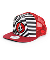 Volcom Coast Print New Era Trucker Hat