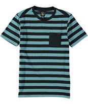 Volcom Cromly Stripe Pocket T-Shirt