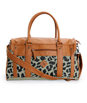 Volcom Drifter Cheetah Print Duffle Bag