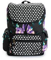 Volcom Dropout Floral & Polka Dot Rucksack Backpack