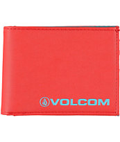 Volcom Euro Red Bifold Wallet