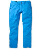 Volcom Faceted Blue Skinny Chino Pants