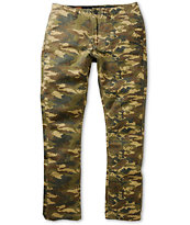 Volcom Faceted Camo Skinny Fit Chino Pants