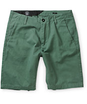 Volcom Faceted Dark Green Shorts