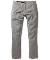 Volcom Faceted Grey Skinny Chino Pants