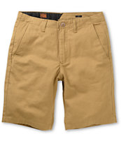 Volcom Faceted Khaki Chino Shorts