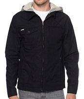 Volcom Facets Black & Grey Hooded Jacket