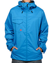 Volcom Forest Blue 8K 2014 Snowboard Jacket