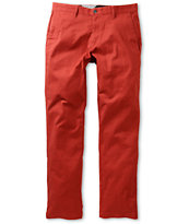 Volcom Frickin Modern Brick Slim Fit Stretch Chino Pants