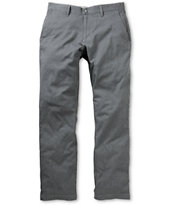 Volcom Frickin Modern Charcoal Regular Stretch Chino Pants