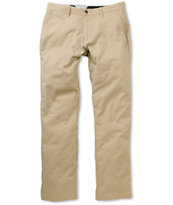 Volcom Frickin Modern Dark Khaki Regular Fit Chino Pants