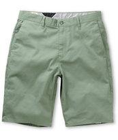 Volcom Frickin Modern Green Chino Shorts