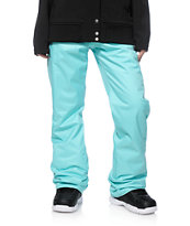 Volcom Frochickie Blue 8K Insulated Snowboard Pants