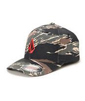 Volcom Full Stone Camo Flexfit Hat