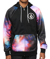 Volcom Galactic Zip Up Tech Fleece Hoodie