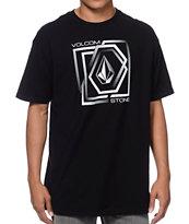 Volcom Gandam Black & White T-Shirt