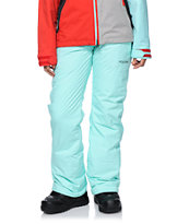 Volcom Girls Boom Mint 8K Snowboard Pants 2014