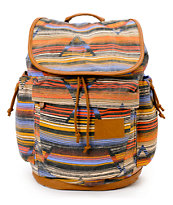 Volcom Girls Daydreamin Striped Rucksack Laptop Backpack