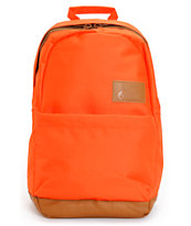 Volcom Girls Going Back Orange Laptop Backpack